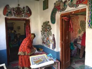 Filip Vermeylen: Madubhani artist in Bihar