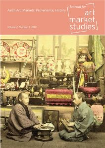 Cover of the Journal of Art Market Studies